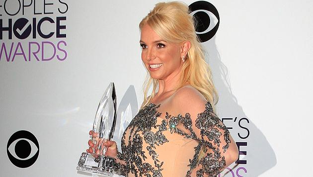 Britney Spears designt neuerdings sexy Unterwäsche (Bild: APA/EPA/NINA PROMMER)