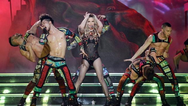 Britney Spears zeigt ihren sexy Bikini-Body (Bild: APA/EPA/Denise Truscello)