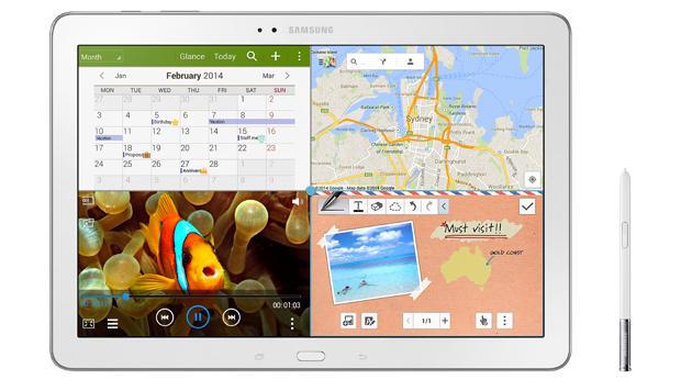 Tablet als Arbeitstier? Galaxy Note Pro im Test (Bild: Samsung)