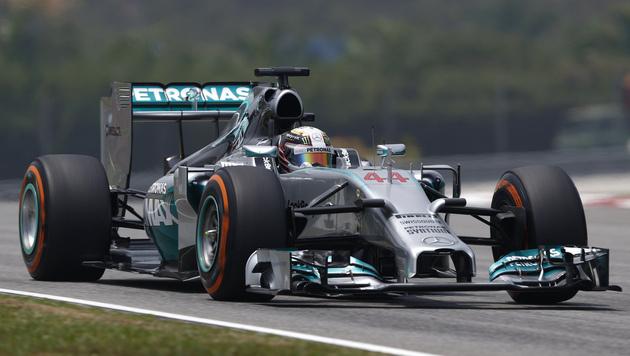 Trainingsbestzeit - Rosberg auch in Malaysia stark (Bild: AP)