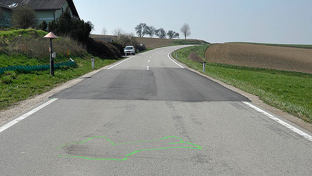 """Konkreter Verdacht"" nach Unfall mit Fahrerflucht (Bild: APA/PAUL PLUTSCH)"