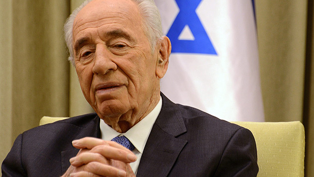 Shimon Peres (Bild: APA/EPA/DEBBIE HILL/POOL)