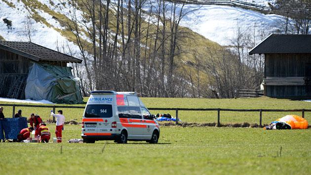 Tiroler (32) stirbt bei Absturz mit Paragleiter (Bild: APA/zeitungsfoto.at, DANIEL LIEBL)