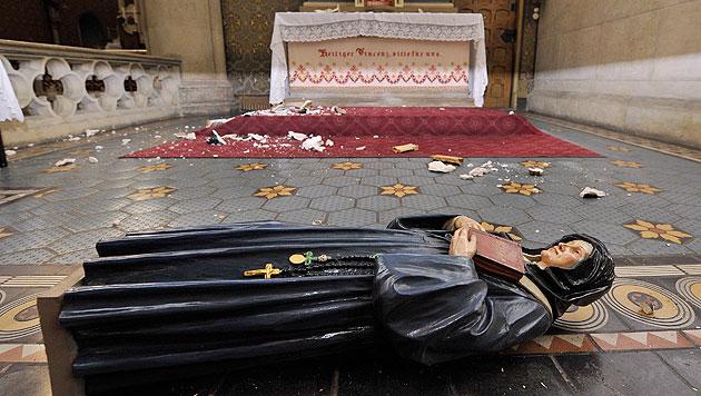 Asylwerber gesteht Vandalismus in sechs Kirchen (Bild: APA/HANS PUNZ)
