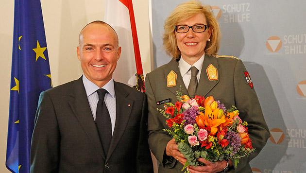 Bundesheer hat nun eine Generalin (Bild: Martin Jöchl)