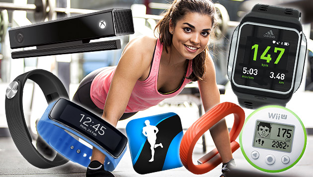AK warnt vor Überwachung durch smarte Technik (Bild: Adidas, Jawbone, Sony, Runtastic, Nintendo, Samsung, Microsoft)