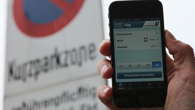 Handyparken in Wien jetzt ohne SMS möglich (Bild: Peter Tomschi)
