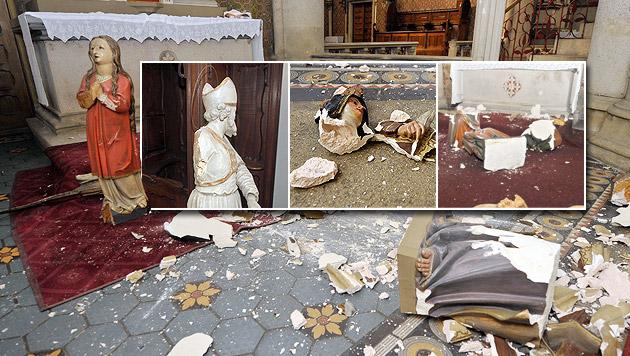 Wien: Kirche schätzt Schaden auf 150.000 Euro (Bild: APA/HANS PUNZ, Andi Schiel)