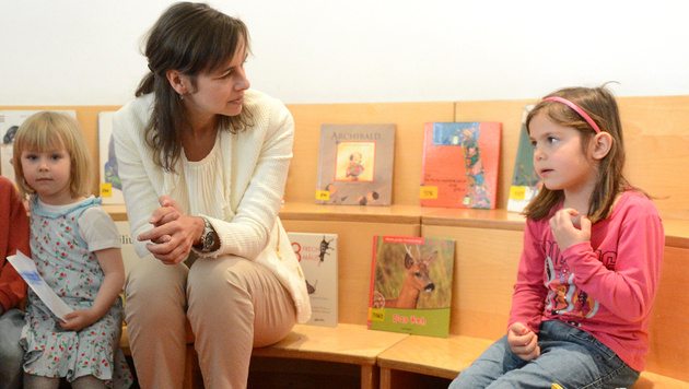 Kinderbetreuung: Karmasin und Länder einig (Bild: APA/HELMUT FOHRINGER)