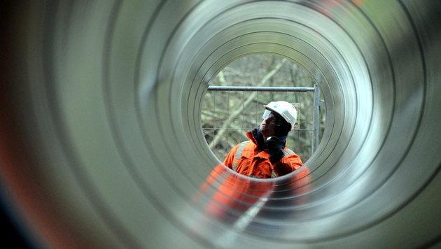 Aus für 290 Kilometer lange Tauerngasleitung (Bild: dpa/Carsten Rehder (Symbolbild))