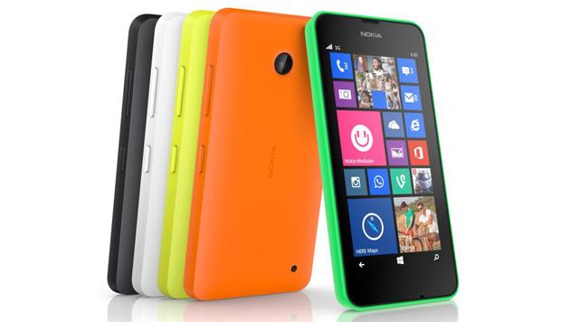 Unterschiede zwischen Lumia 630 und 635 gibt's nur bei der Funkausstattung. (Bild: Nokia)