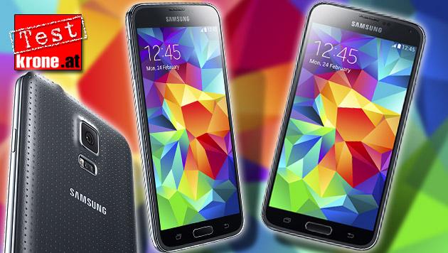 Samsung Galaxy S5: Die Smartphone-Hoffnung im Test (Bild: Samsung, krone.at-Grafik)