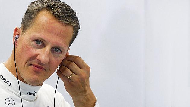 """Schumacher zeigt """"Anzeichen, die Mut machen"""" (Bild: APA/EPA/DIEGO AZUBEL)"""