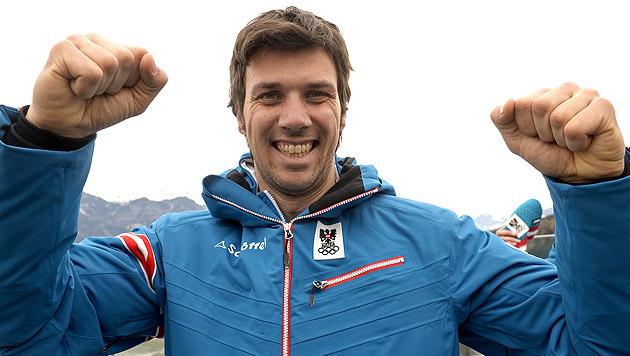 Slalom-Ass Mario Matt hängt noch eine Saison an (Bild: APA/ROBERT PARIGGER)