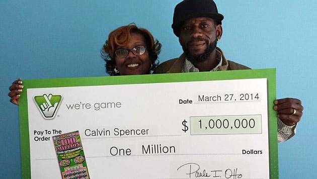 US-Paar gewinnt in 16 Tagen dreimal in Lotterie (Bild: Virginia Lottery)