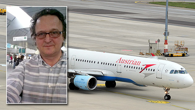 "AUA-Flieger in Linz notgelandet: ""Rauch in Kabine"" (Bild: APA/M. THIER/WWW.AUSTRIANWINGS.INFO, twitter.com/HannoSettele)"