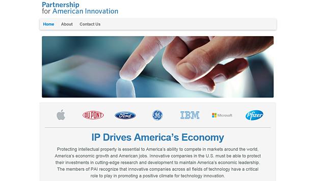 Apple und Microsoft gegen neues US-Patentsystem (Bild: partnershipforamericaninnovation.org)