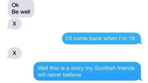 James Franco: Schlüpfrige SMS an 17-jährigen Fan (Bild: imgur.com)