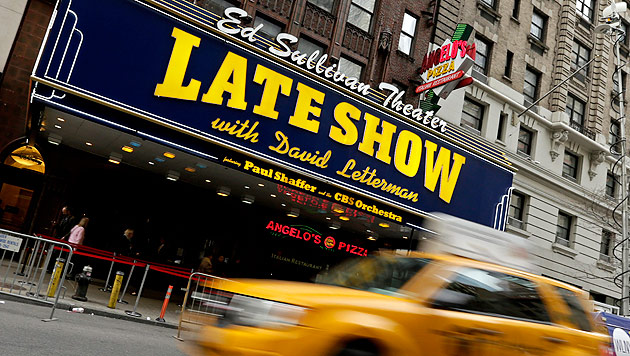 US-Moderator David Letterman gibt Talkshow auf (Bild: APA/EPA/PETER FOLEY)