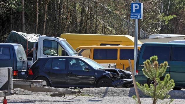 Tirol: Polizei durchsuchte illegales Bulgaren-Camp (Bild: Christof Birbaumer)