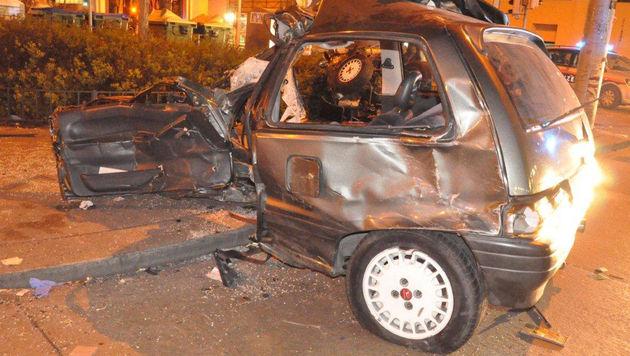 Wien: Passant von rasendem Pkw erfasst - tot (Bild: Polizei)