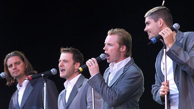 Boyzone 1999 in München. (Bild: Jan Nienheysen/EPA/picturedesk.com)