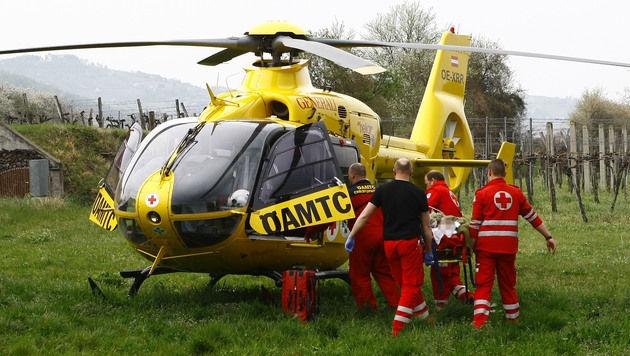 NÖ: Schwerverletzter (34) überlebt Nacht in Wald (Bild: BFKDO/Manfred Wimmer)