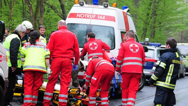 NÖ: Schwerverletzter (34) überlebt Nacht in Wald (Bild: BFKDO/Gernot Rohrhofer)