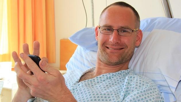 Jan Skorpil wollte ein Trauma bewältigen - und verletzte sich dabei erneut. (Bild: Marion Hörmandinger)
