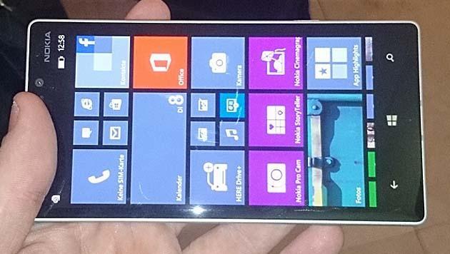 Angetestet: Unser Ersteindruck zum Nokia Lumia 930 (Bild: Dominik Erlinger)