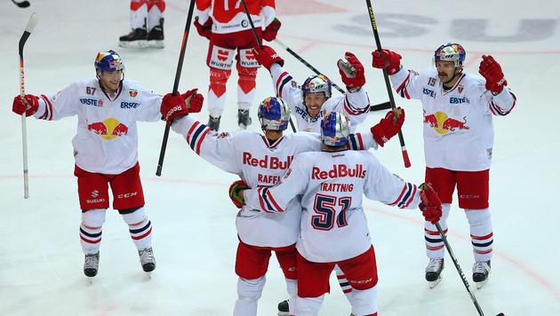 Meister Salzburg verkürzt im EBEL-Finale auf 1:2 (Bild: Red Bull / GEPA pictures)