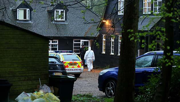 Peaches Geldof wurde in ihrem Haus in Wrotham im südöstlichen England gefunden. (Bild: AP)