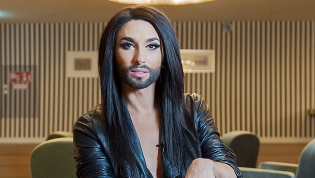 """Conchita Wurst vor Auftritt: """"Lebe meinen Traum"""" (Bild: Andreas Graf)"""