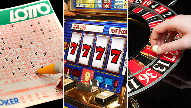 Österreicher waren 2013 im Glücksspielrausch (Bild: Stephan Huger, APA/PFARRHOFER, APA/dpa-Zentralbild/Peter Endig)