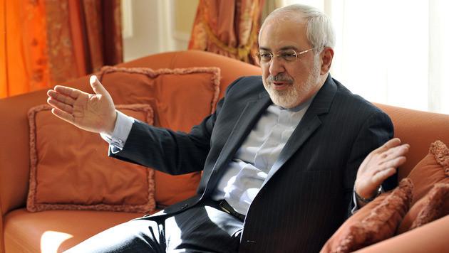 Der iranische Außenminister Mohammad Javad Zarif (Bild: APA/HANS PUNZ)