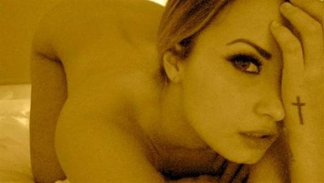Demi Lovato rekelt sich nackt vor der Kamera. (Bild: Zoom.in)