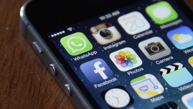 Begeisterung für Smartphone-Apps lässt nach (Bild: EPA)