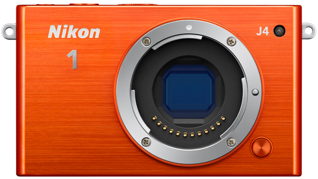 "Eine ""nackte"" Nikon 1 J4 ohne Objektiv. (Bild: Nikon)"
