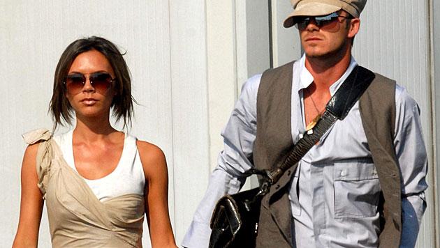 Victoria konnte sich als Designerin einen Namen machen. Aber auch David hat Spaß an Mode. (Bild: CLAUDIO ONORATI/EPA/picturedesk.com)