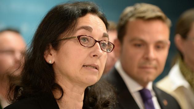 Werthmann ersetzt Haider als BZÖ-Spitzenkandidatin (Bild: APA/ROLAND SCHLAGER)