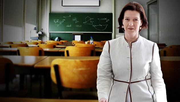 Heinisch: 57 Millionen Euro weniger für Bildung (Bild: thinkstockphotos.de,  APA/GEORG HOCHMUTH, krone.at-Grafik)