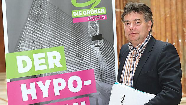 Hypo-Jäger Werner Kogler tourt durch Österreich (Bild: Peter Tomschi)