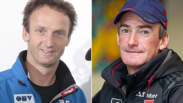 Kuttin und Puelacher neue Cheftrainer (Bild: APA/GERT EGGENBERGER, APA/EXPA/Johann Groder)