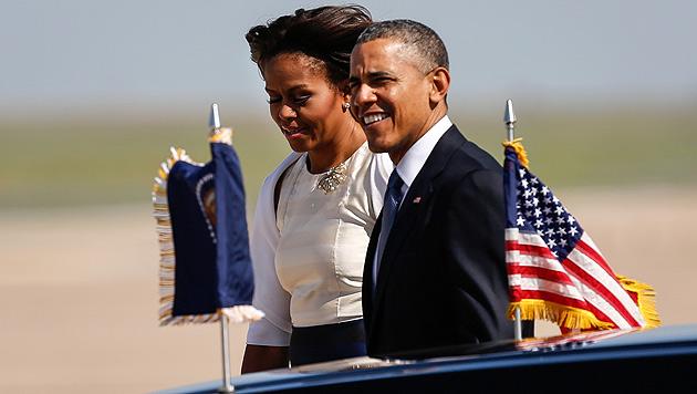 Michelle und Barack Obama (Bild: AP)