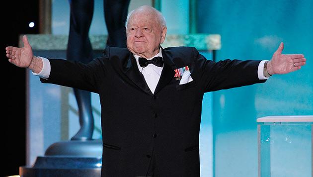 Mickey Rooney wird in Hollywood beerdigt (Bild: AP)