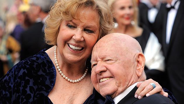 Rooney und seine Frau Jane im Jahr 2010. (Bild: AP)