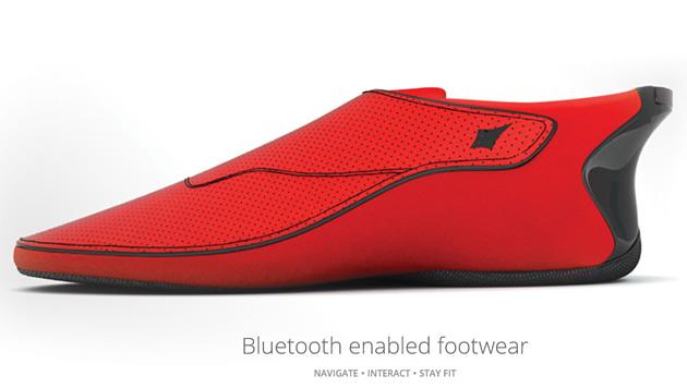 Navi-Schuh lotst Blinde per Vibration ans Ziel (Bild: lechal.com)