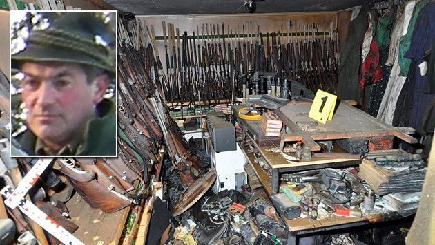 Wilderer von Annaberg beging 108 Straftaten (Bild: Franz Crepaz, LPD NÖ)