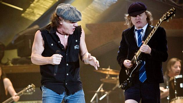 AC/DC rocken weiter - Malcolm Young pausiert (Bild: EPA/picturedesk.com/Ennio Leanza)