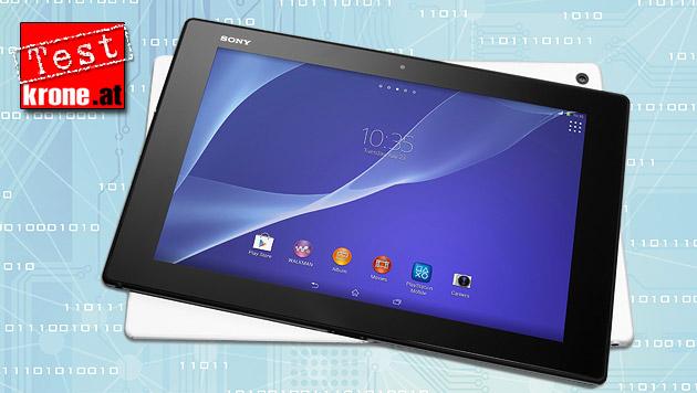 Badewannen-Tablet Sony Xperia Z2 im Praxistest (Bild: Sony, thinkstockphotos.de, krone.at-Grafik)